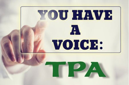 You Have a Voice: TPA