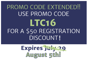 Promo Code LTC16 Extended