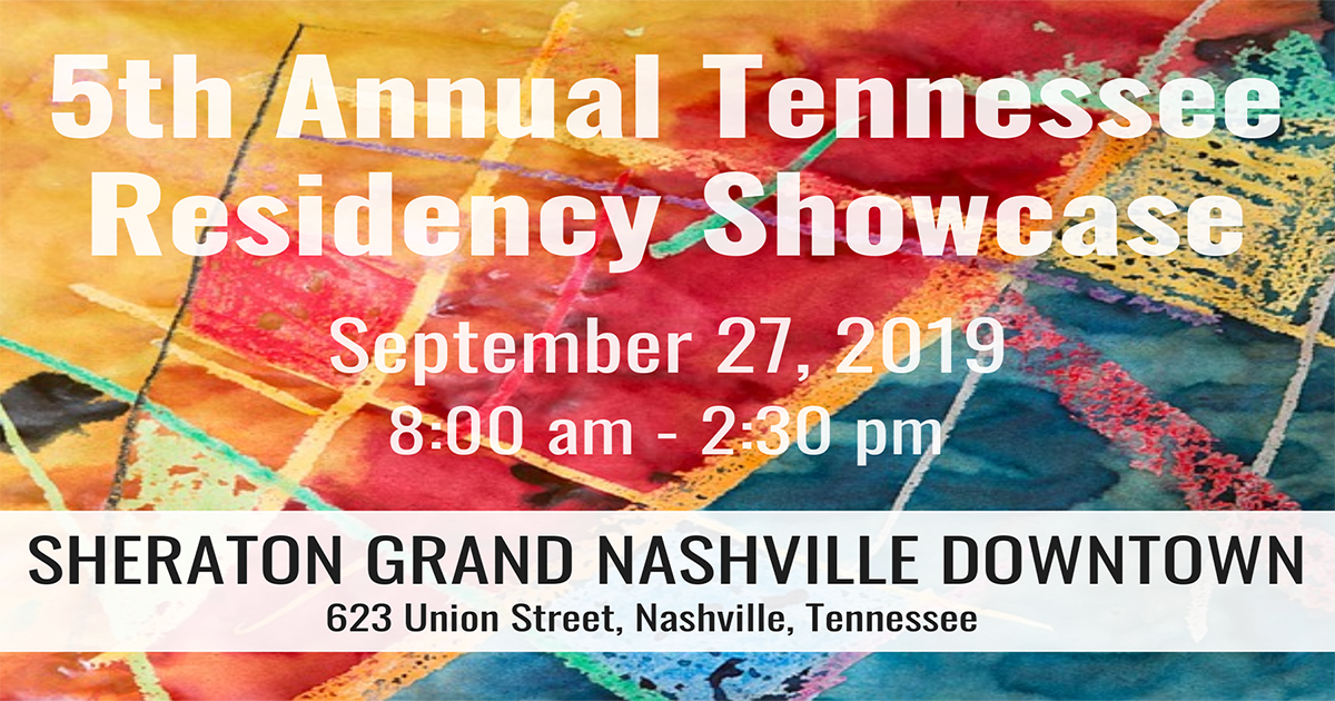 2019 Tennessee Residency Showcase