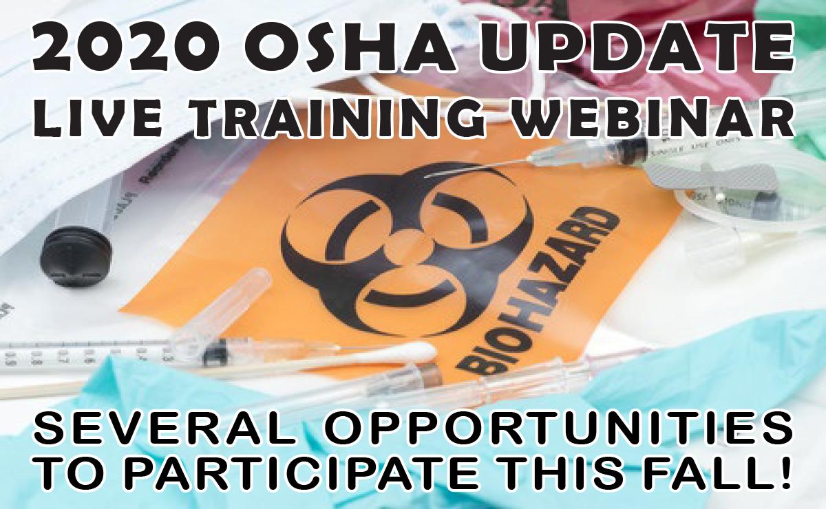 2020 OSHA Update banner