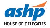 ASHP House of Delegates