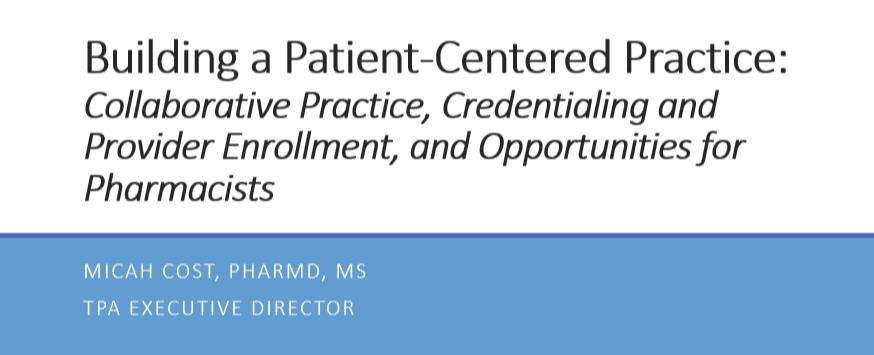 Building a Patient-Centered Practice