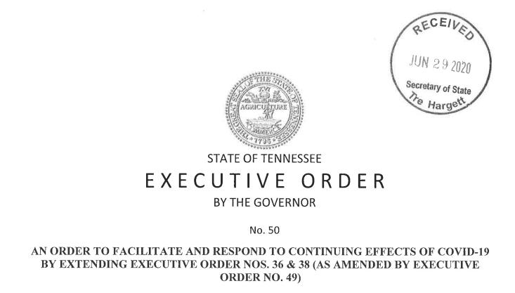 Executive Order #50
