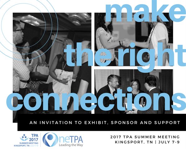 Exhibit/Sponsor at TPA Summer Meeting