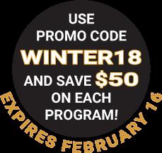 2018 Winter Meeting Promo Code